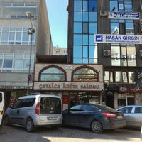 Photo taken at Çatalca Köfte Salonu by Fatih ☾ ✰ on 2/17/2017