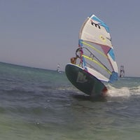 Photo taken at Club Mistral Windsurf Center by Alexander S. on 8/4/2013