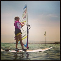 Photo taken at Club Mistral Windsurf Center by Alexander S. on 8/5/2013