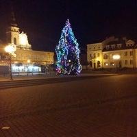 Photo taken at Tarnobrzeg Rynek by Karol B. on 1/6/2014