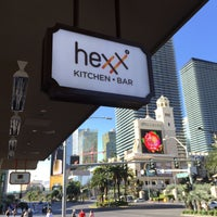 Photo taken at HEXX Kitchen + Bar by Burak G. on 4/6/2015