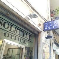 Das Foto wurde bei Ottica Solstyle von Giancarlo M. am 5/23/2013 aufgenommen