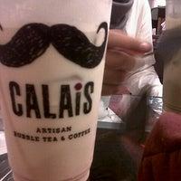 Photo taken at CALAIS Artisan Bubble Tea & Coffee by suryaningputri on 11/5/2013