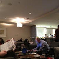 Photo taken at British Airways Terraces Lounge by Mike B. on 3/22/2013