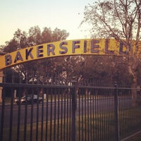 Photo taken at The Bakersfield Sign by Jeremy B. on 1/16/2014
