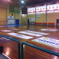 Photo taken at Κλειστό Γυμναστήριο Άργους by Iw-Antigoni🔝🙈❤️ C. on 8/31/2013