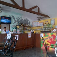 Photo taken at The Landing, Cafe Beach Bar by Michelangelo A. on 7/23/2013