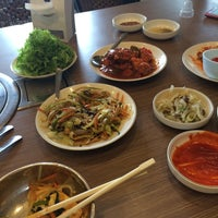 Photo taken at Hogalbi Korean Grill Restaurant by Rose Lyn Y. on 7/10/2014