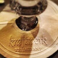 Photo taken at Kraftwerk Restaurant by Luiz Paulo R. on 9/22/2012