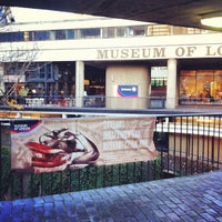 Photo taken at Museum of London by Marie S. on 11/23/2012