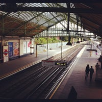 Photo taken at Ealing Broadway Railway Station (EAL) by Marie S. on 9/29/2012