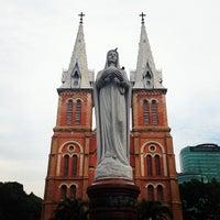 Photo taken at Saigon Notre-Dame Basilica by singh b. on 4/11/2013
