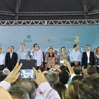 Photo taken at Parque de Exposições da Região Norte by Iago F. on 3/19/2014