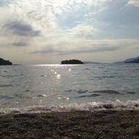 Photo taken at Žuljana Plaža by Filip D. on 6/21/2014