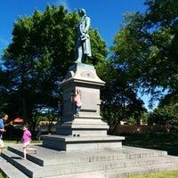 Photo taken at Friedrich von Schiller Statue by DocWatson1 on 6/5/2014