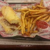 Photo taken at Penn Station East Coast Subs by Brittany H. on 2/15/2014