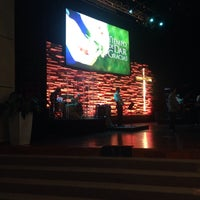 Photo taken at Iglesia Bautista Internacional by Lucy M. on 9/27/2015