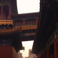 Photo taken at Yonghegong Lama Temple by Elsa Y. on 1/1/2017