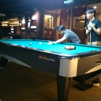 Photo taken at Elite Snooker & Pool Cafe by Wilson H. on 11/20/2014