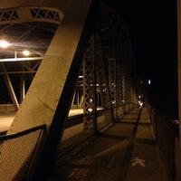 Photo taken at Burrard Bridge Dog beach by Alex Z. on 8/22/2014