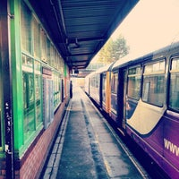 Photo taken at Salford Crescent Railway Station (SLD) by Miki H. on 1/31/2013