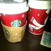 Photo taken at Starbucks Coffee by Jenna D. on 12/19/2012