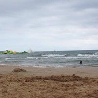 Photo taken at Пляж by Marina T. on 8/1/2014