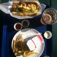 Photo taken at Mac's Seafood Wellfleet Pier by Verena v. on 8/9/2013