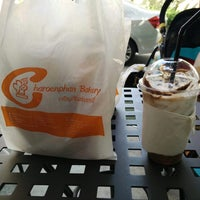 Photo taken at Charoenphan Bakery by Tutu T. on 12/31/2014