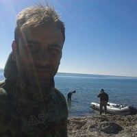 Photo taken at Tavşan adası by Müjdat T. on 10/21/2014
