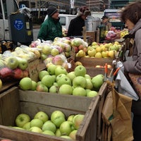 Photo taken at Tucker Square Greenmarket by Jannie on 3/1/2013