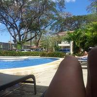 Photo taken at Club De Playa Hotel & Villas Nacazcol Playa Panamá by Isabel V. on 2/8/2014