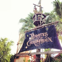 Photo taken at Pirates of the Caribbean by Ian on 11/24/2012