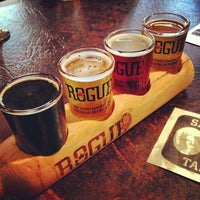 Photo taken at Rogue Ales Public House by Martin G. on 1/7/2013