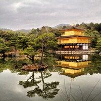 Photo taken at Kinkaku-ji Temple by Martin G. on 3/18/2013