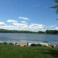 Photo taken at Sandy Lake by Chris S. on 5/25/2013
