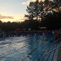 Photo taken at Poolside @ Wyngate Recreation Center by George I. on 6/5/2015