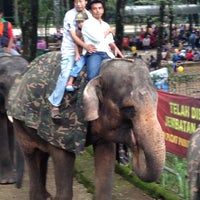 Photo taken at Park And Go - Kebun Binatang Ragunan by Prajna T. on 4/6/2014