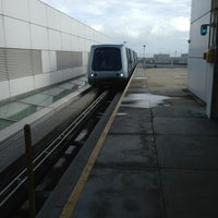 Photo taken at SFO AirTrain by Amy R. on 12/22/2012