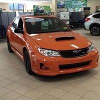 Photo taken at Cityside Subaru by Amy R. on 5/28/2013