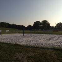 Photo taken at Beachvolleyball AVE by Philipp H. on 7/31/2013