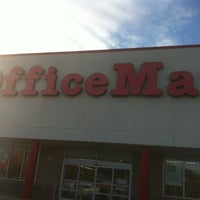 Photo taken at OfficeMax by Patrick T. on 1/26/2013