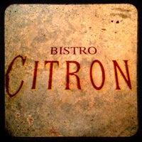 Photo taken at Bistro Citron by Vanessa C. on 12/6/2013