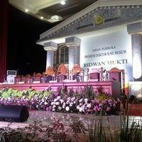 Photo taken at Graha Sriwijaya (Kampus UnSri) by rizka n. on 12/23/2013