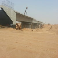 Photo taken at Wadi bridge by Mahmoud E. on 10/9/2014
