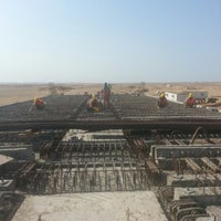 Photo taken at Wadi bridge by Mahmoud E. on 10/16/2014