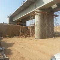 Photo taken at Wadi bridge by Mahmoud E. on 10/12/2014