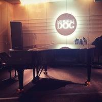 Photo taken at Musical Dog Studio by haLRu on 12/8/2013