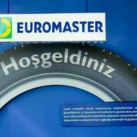 Photo taken at Özman Otomotiv - Euromaster-Michelin by Meriç D. on 12/23/2016