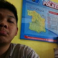Photo taken at SATLANTAS Polres Malang by PENCIL H. on 6/11/2013